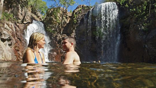 Florence Falls, Litchfield National Park, Darwin, Northern Territory, Australia