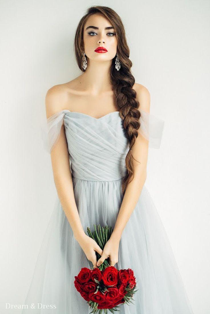 Свадебное платье «Ирис» Дрим энд Дресс— купить в Москве платье Ирис из коллекции 2016 года
