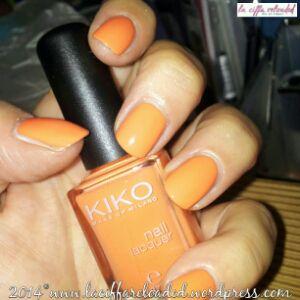 Kiko Nail Lacquer Col. 483 Papaya