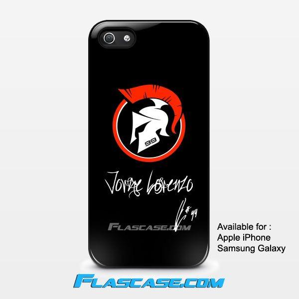 Jorge Lorenzo New Spartan Logo Apple iPhone 4/4s 5/5s 5c 6 6 Plus Samsung Galaxy S3 S4 S5 S6 S6 EDGE Hard Case #AppleiPhoneCase #SamsungGalaxyCase