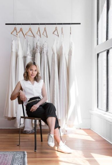 Say yes to the (unconventional) dress after a day with the modern woman's bridal designer, and our latest Kit, Gaby Bayona. | Kit and Ace