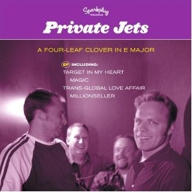 "Private Jets debut EP ""A Four Leaf Clover In E-Major""."