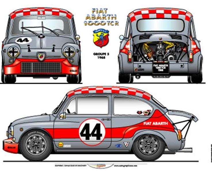 ABARTH 1000TCR S.1 GR.5 1968
