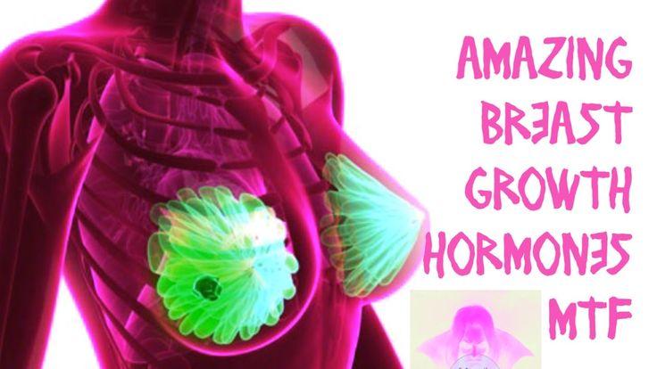 AMAZING! BREAST GROWTH HORMONES! MTF HRT M2F Transgender Subliminal Hypn...