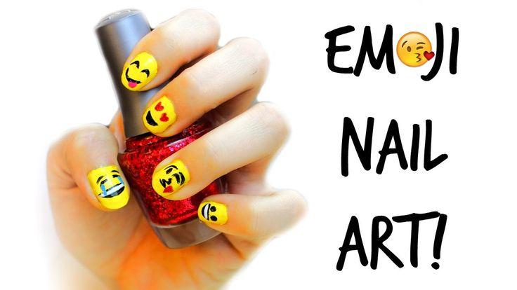 Emoji nail art tutorial : M?s de im?genes sobre emogis en fondos