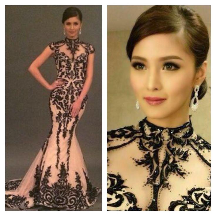 kim chiu 8th star magic ball gown dress outfit filipina