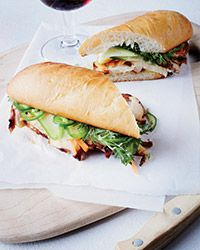 Five-Spice Chicken Banh Mi Sandwiches Recipe on Food & Wine
