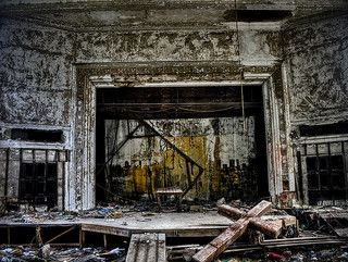 abandoned stage - Google Search