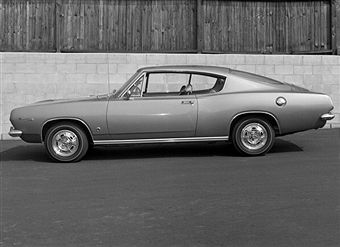 Plymouth Barracuda Fastback. Second generation of the Plymouth pony car had swoopier lines and greater refinement and power.