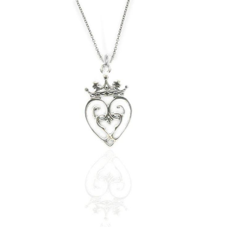 Made in Scotland RRP £94.00 Ortak Jewellery Luckenbooth Silver Necklace P171