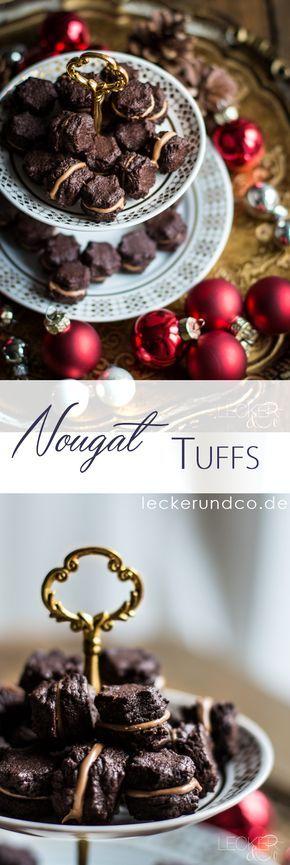 Nougat Tuffs | DIe leckersten Weihnachtsplätzchen