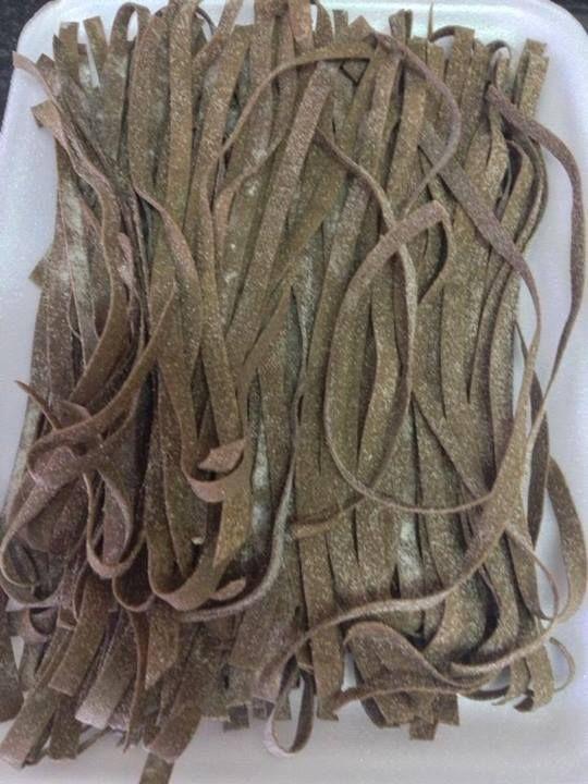 Macarrão Caseiro de farinha de banana verde