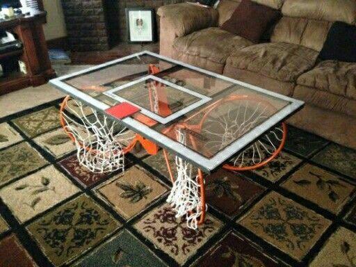 Basketball coffee table