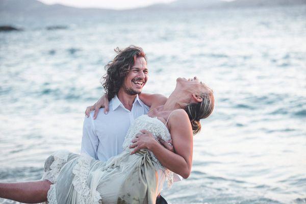 Next day shoot in Mykonos! See more here http://www.love4weddings.gr/bohemian-wedding-nafplio/