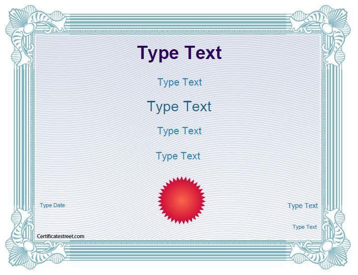 25+ ideias exclusivas de Blank certificate no Pinterest Modelos - blank certificates template