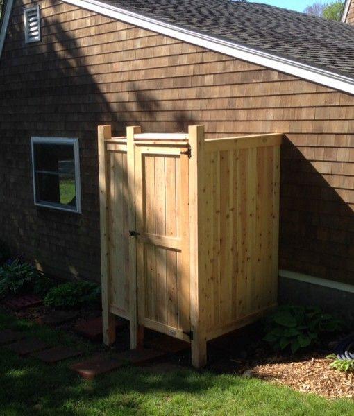 Camping Bathroom Ideas: Best 25+ Outdoor Shower Enclosure Ideas On Pinterest