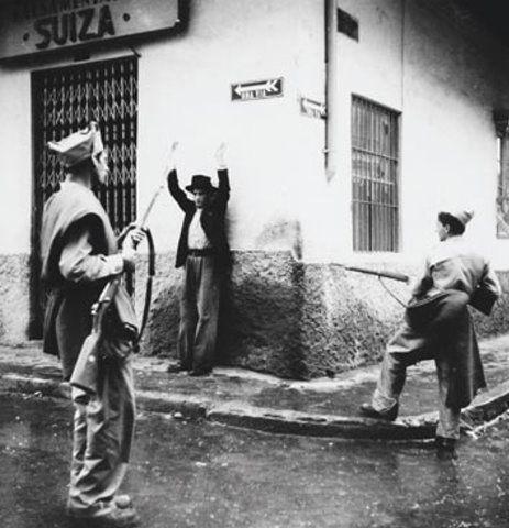 El 9 de abril de 1948, en Bogota - Manuel H Rodriguez