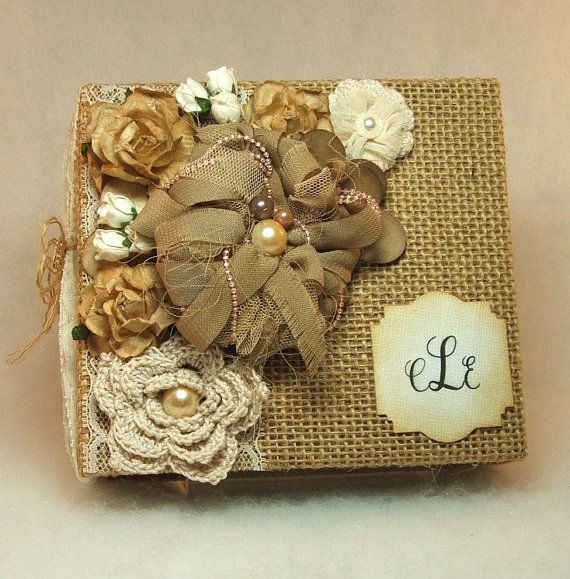 Wedding Album Burlap Guestbook Instant Print Photo Hen Party Memory Mini Rustic Parent Gift