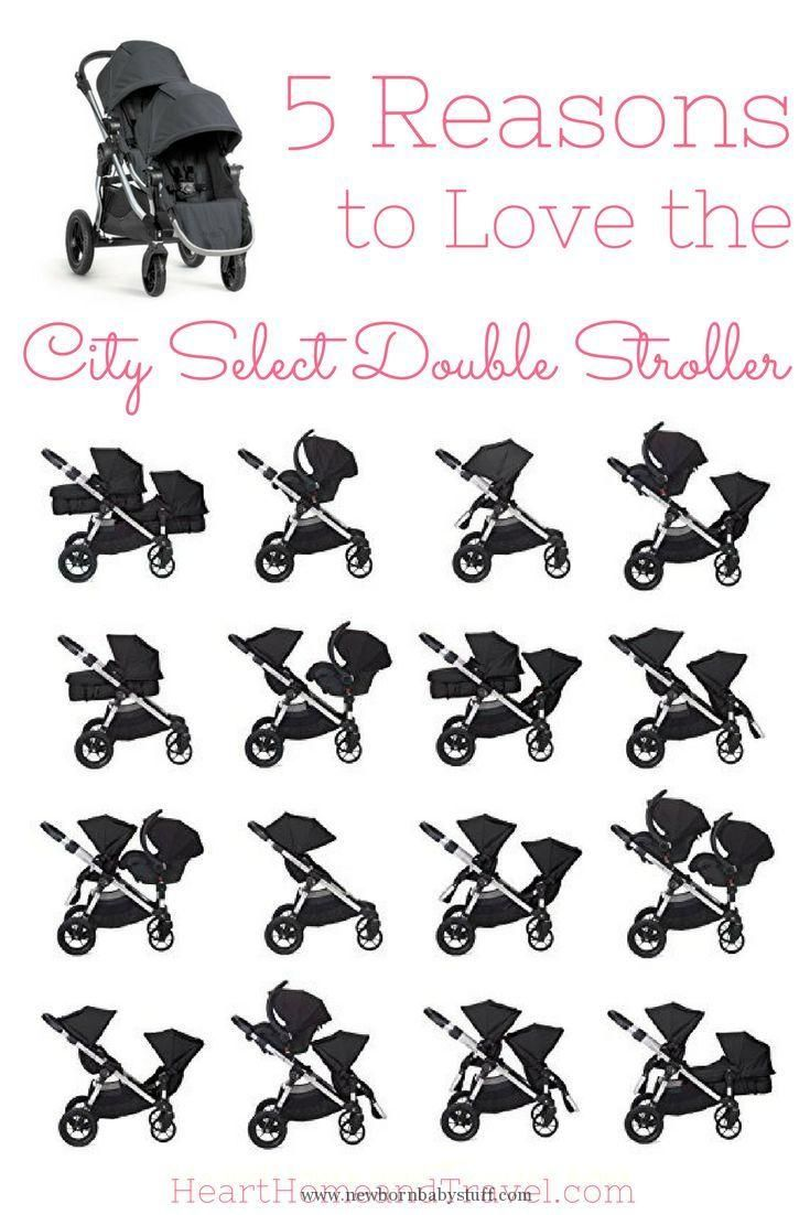 Baby Accessories The City Select Double Stroller is