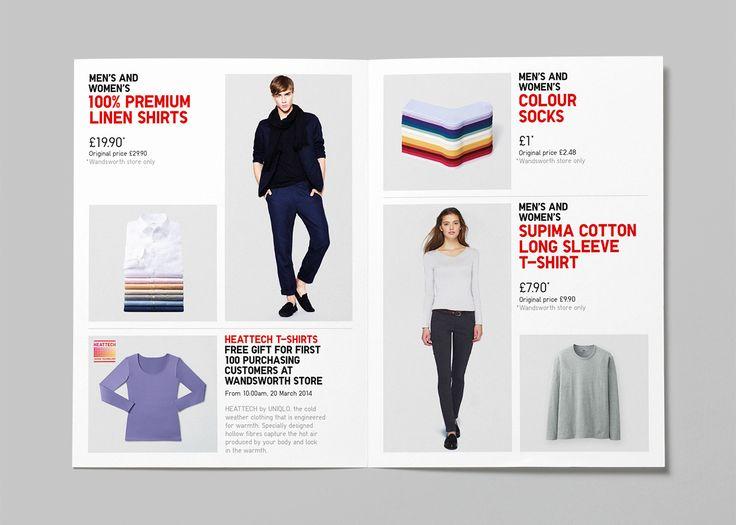 Uniqlo retail design in London and Europe  Parallel design studio