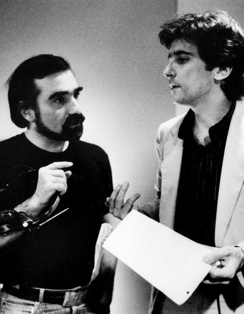 Martin Scorsese & Griffin Dunne on the set of After Hours