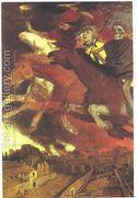 War 1896 (2)  by Arnold Böcklin