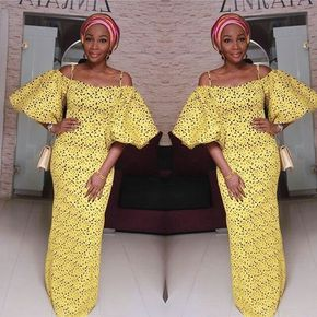 What a Lovely Simple Ankara Gown Style ; Ladies You Must Try This - DeZango Fashion Zone