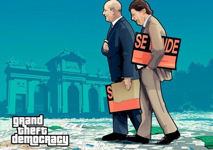 'El Gran Robo de la Democracia'