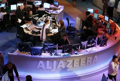 "SOME ANTICS: Leaked Email Shows Al Jazeera Instructing Staff To Refrain From Calling Al-Nusra Front ""Al-Qaeda""…  ----------------------------------------------- Qatar owns Al Jazeera, Qatar also funds al-Nusra Front."