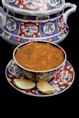 Moroccan Harira is the traditional soup of The Maghreb. It is popular as a starter but is also eaten on its own as a light snack