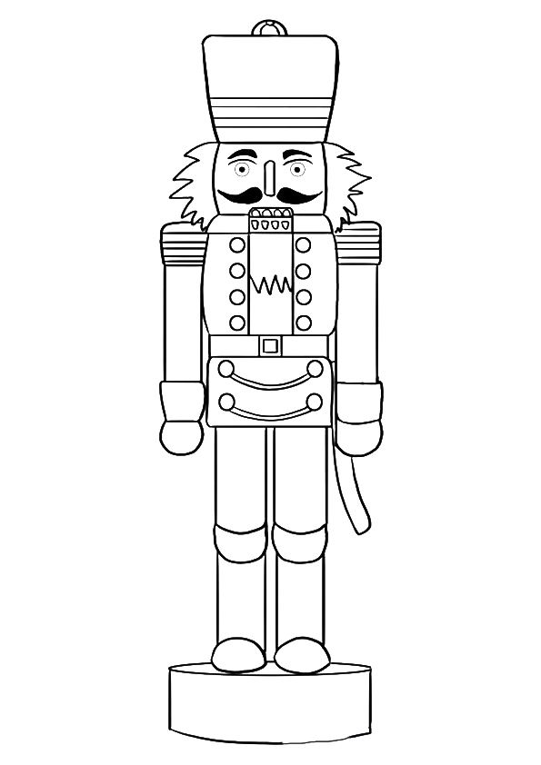 christmas nutcracker coloring pages printable - photo#18