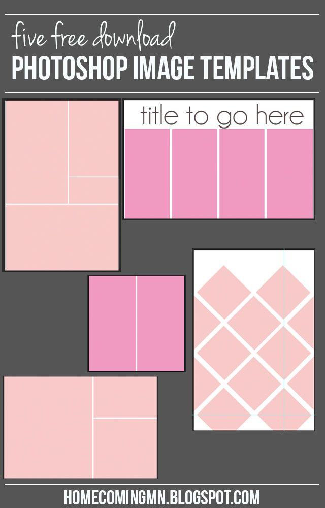 How to create a Photoshop Image Template   Home Coming for thegirlcreative.com