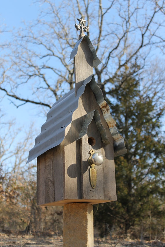 174 best images about bird houses on pinterest gardens - Old barn wood bird houses ...
