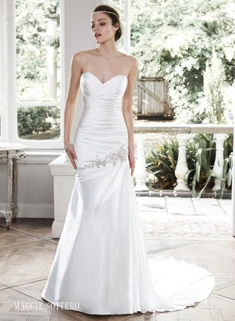 Stunning Maggie Sottero Bridal MW Bobbi available at Party Dress Express Quarry Street