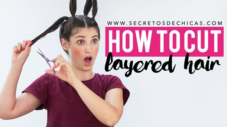 ♥ ♥ READ ME/EXPLANATIONS ♥ ♥ HOW TO CUT LAYERED HAIR WITH PONYTAILS Today I'm going to show you a how to cut your own hair with ponytails. This technique is ...