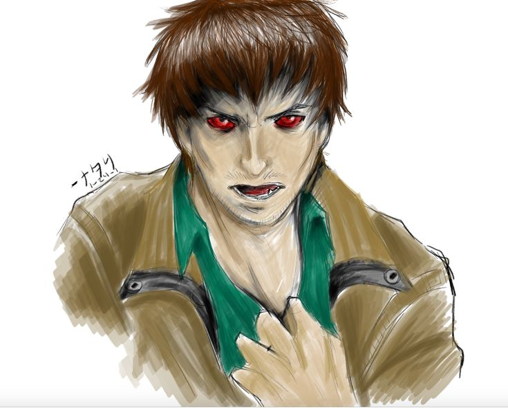Quick sketch and shading of Buddy from Resident Evil Damnation