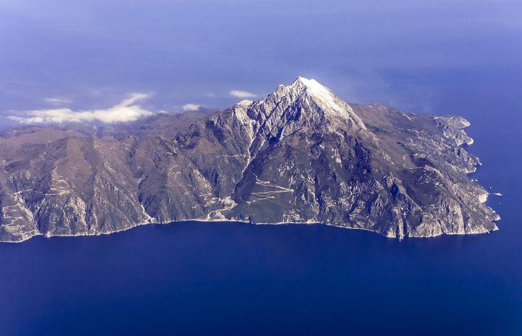 Η κορυφή του Αγίου Όρους