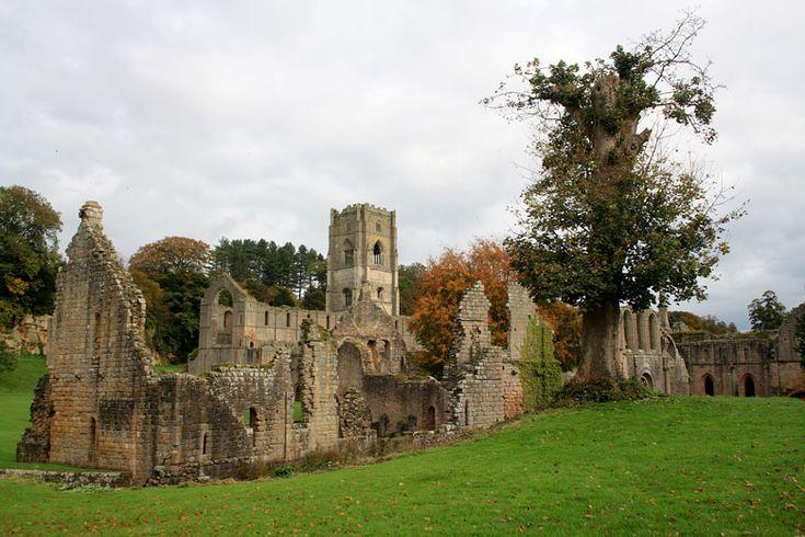 Autumnal Fountains Abbey