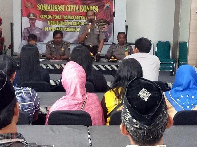 Satgas Nusantara Polsek Ulujami adakan Sosialisasi Cipta Kondisi kpd Tomas dan Toda. #polisi_indonesia #hmspoldajateng #humasrespemalang #abdi_negara