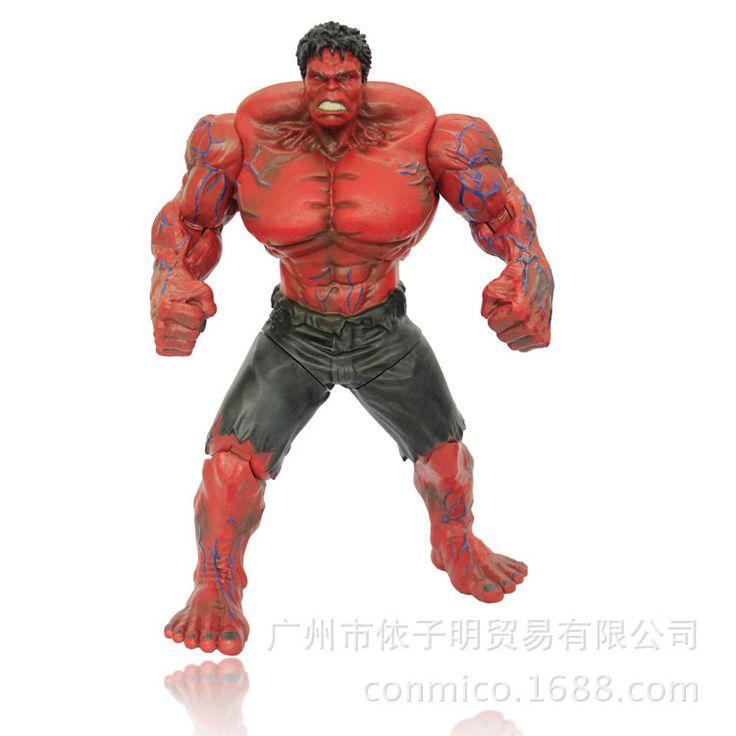 $23.99 (Buy here: https://alitems.com/g/1e8d114494ebda23ff8b16525dc3e8/?i=5&ulp=https%3A%2F%2Fwww.aliexpress.com%2Fitem%2FMarvel-Super-Hero-The-Avengers-Movie-Hulk-26-cm-1-pcs-set-PVC-Action-Figures-Model%2F32223141861.html ) Marvel Super Hero The Avengers Red Hulk & green hulk 26 cm 1 pcs/set PVC Action Figures Model collection Toys for just $23.99