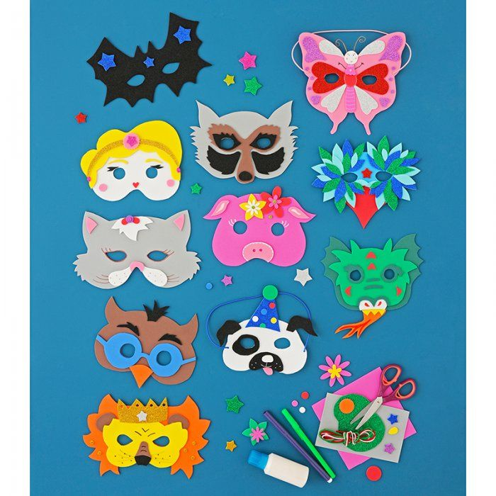 Des masques de Carnaval à faire soi-même !