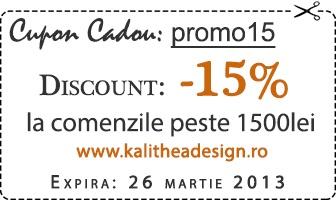 Kalithea design - mobila ieftina  voucher cadou!