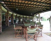 Restaurant at Satara Restcamp