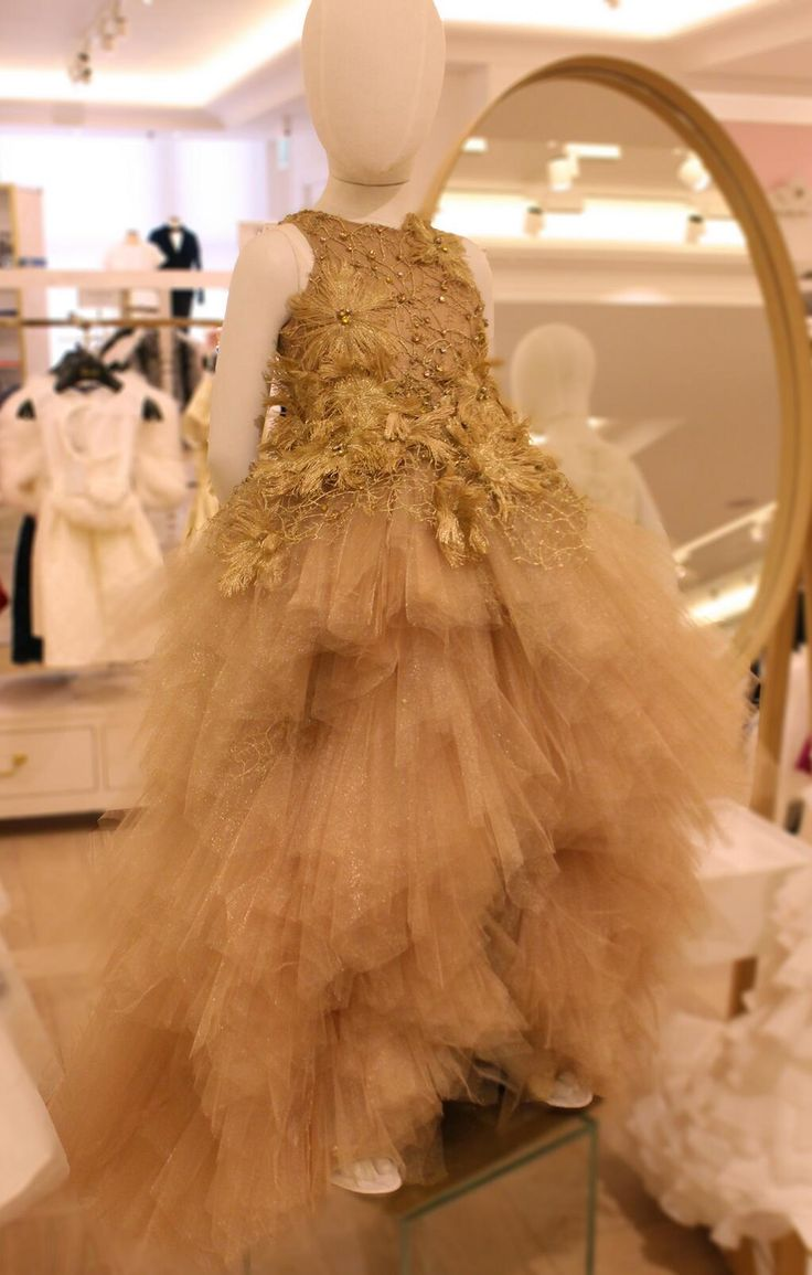 The ultimate outfit for a little Princess. A young lady will always impress in this #MischkaAoki dress… #MiniHarrods