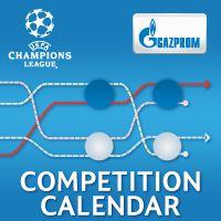 UEFA Champions League – competition calendar 2014