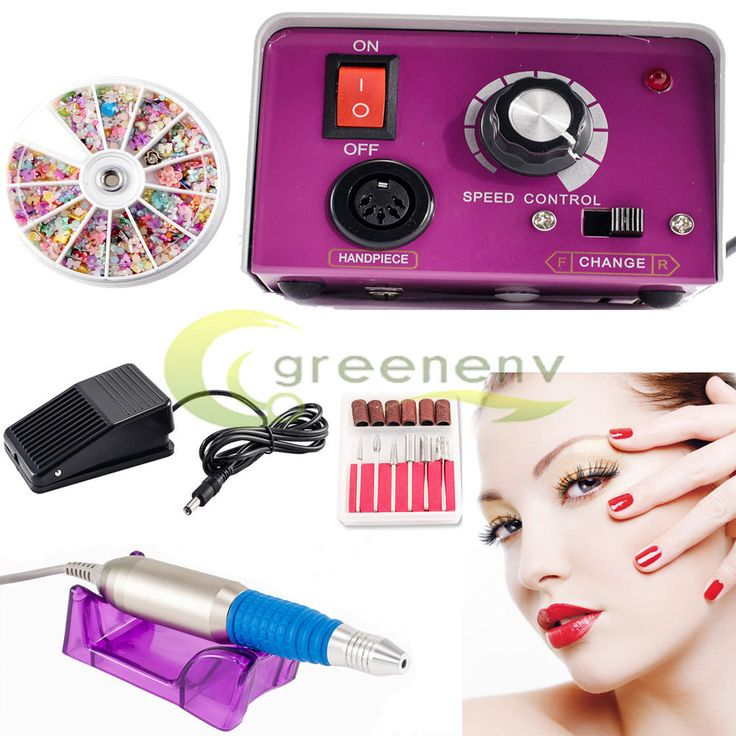 PROFESSIONAL ELECTRIC NAIL FILE DRILL Manicure Tool Pedicure Machine Set kit New #iMeshbean