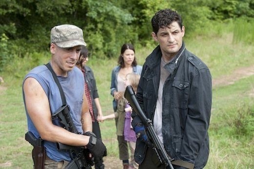"""The Walking Dead"" will be welcoming two more characters into the Governor's storyline in the upcoming episode, ""Dead Weight"": Kirk Acevedo and Enver Gjokaj. Though they're new to the AMC zombie series, viewers will likely recognize the two actors from their previous TV roles."
