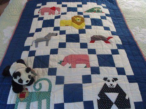 Zoo Baby Crib Quilt Gift Set.jpg