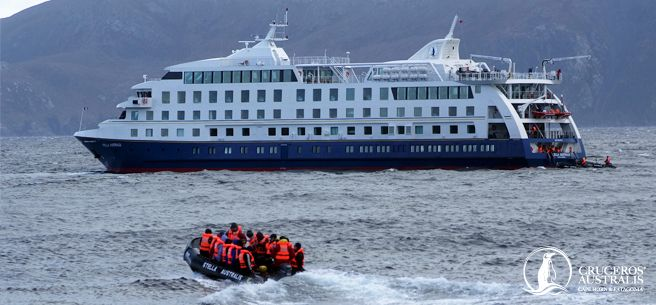 Cruceros Australis takes you to two of the most beautiful and untouched places on Earth: #Patagonia and Tierra del Fuego. #travel #cruise #SouthAmerica
