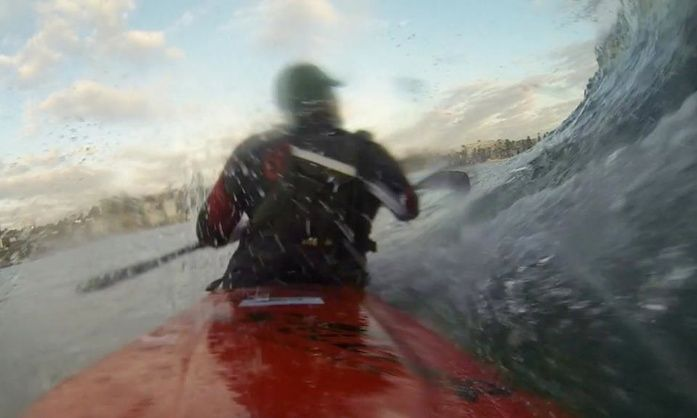 Surfski Surfing: Shooting the Slot in the Hunt for the Greenroom